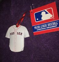 "MLB Boston Red Sox Christmas Ornament 3"" Jersey- Kurt Adler New"