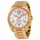 NEW MICHAEL BRADSHAW TWO-TONE STAINLESS STEEL CHRONOGRAPH UNISEX WATCH MK5651