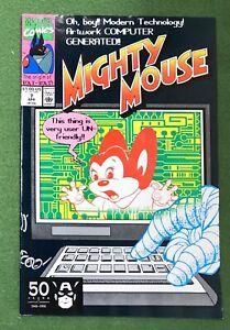Mighty Mouse #7 Marvel Comics Copper Age Terrytoons cartoon Bat Bat origin vf
