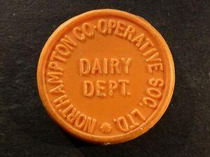 Co-op token, Northamptonshire, Northampton, 1 Pint Milk.