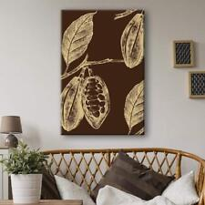 Wall26 - Hand Drawn Coffee Seeds on the Plant Gallery - CVS - 32x48 inches