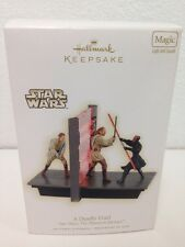 Star Wars Hallmark Ornament A Deadly Duel Light/Sound!