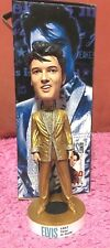 Elvis Presley Head Knocker Doll Bobble Head Nodder 1957 Gold Suit Las Vegas