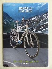 Poison Titan-Bikes 2018 Argentum Nitro Thallium - Prospectus Brochure Vélos