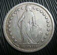 SUISSE - 1 FRANC 1911 Argent