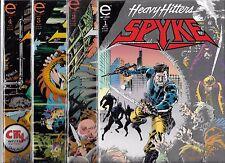 SPYKE #1-#4 SET (NM-) HEAVY HITTERS FROM MARVEL