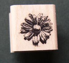 "P24 Miniature flower rubber stamp Wm 0.5x0.5"""