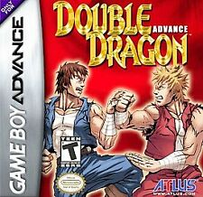 Authentic Double Dragon Advance (Nintendo Game Boy Advance, GBA) (GD) Pre-Owned