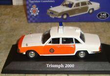 ATLAS EDITIONS - TRIUMPH 2000 POLICE CAR -LANCASHIRE CONSTABULARY - 1:43 -BOXED