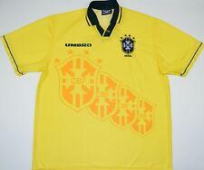 1994-1997 BRAZIL UMBRO HOME FOOTBALL SHIRT (SIZE XL)