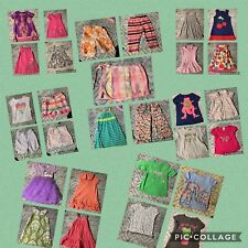 Girls Size 4T Mixed Lot Of 29 Pcs. Spring & Summer Excellent Used Condition