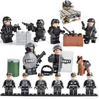 Military Special SWAT police salon Army Building Bricks Figures Toys Random