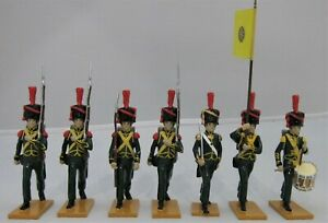 BEAU GESTE Grenadiers Nassau's 2nd Light Infantry Regiment Set of 7 Toy Soldiers