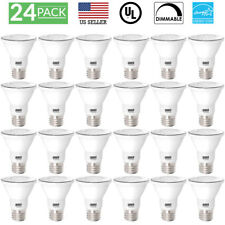 SUNCO 24 PACK PAR20 FLOOD LED BULB 7W (50W) 470 LUMEN 2700K SOFT DIMMABLE
