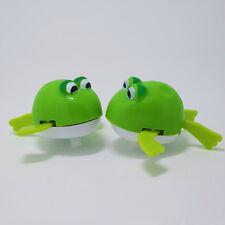 Hot Wind-up Clockwork Baby Kid Bath Diver Swimming Frog Clockwork Fun Toy Gift