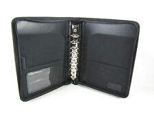 """Day Planner/Binder  Classic 1.25"""" Rings Black  Avonex Fits Franklin Covey"""
