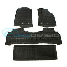 Toyota Land Cruiser 200 Series 2012-2017 Rubber Interior Floor Mats