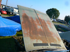 1972 Dodge Charger S/E 340 400 440  mopar hood with front and rear stainless ste