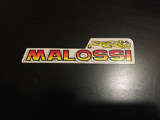 STICKER AUTOCOLLANT MALOSSI HYPER RACING RALLYE MOTORSPORT