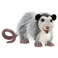 Folkmanis High Quality Comfortable Play Pretend Fun Animal Puppets (Opossum)