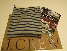 NWT AUTHENTIC J.CREW Striped long-sleeve T-shirt in heavyweight jersey  / Medium