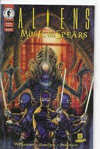 ALIENS MUSIC OF THE SPEARS 1-4 NM+ DARK HORSE 1994