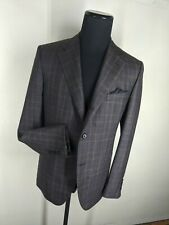 Raffaele Caruso NEW Made In Italy 100% Wool Sport Coat 3 Button 2 Vents  US 46 R