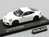 Minichamps 1:43 PORSCHE 911 (991.2) GT3 TOURING 2018 WHITE  L.E. 504 pcs.