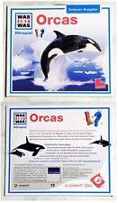 WAS IST WAS Orcas / Hörspiel . Werbe-CD