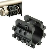 "Mossberg 500 Remington 870 Shotgun 12GA 1"" Tube Picatinny Flashlight/Laser Mount"