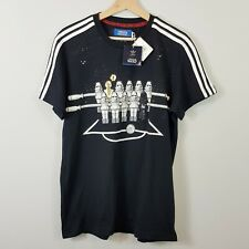 ADIDAS Originals Mens Size L Black Star Wars Print Tee (2010) NEW - *Rare*
