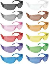 Crystal Full Color Safety Glasses, Fits Adult and Youth (Pack of 12)