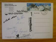 Nepal Baden-Badener NUPTSE Expedition 1989 Ralf Dujmovits signed by members