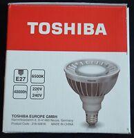 """*1x TOSHIBA LED-LEUCHTMITTEL """"LDRC1665WE7EUD2"""" PAR38 neutral-weiß E27 6500K NEU!"""
