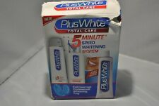 NEW Plus White 5 Minute Speed Whitening System,EXP 6/19 Damaged box, SEE PHOTO