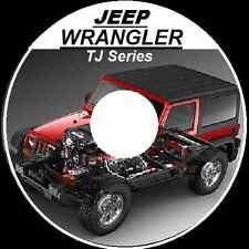 JEEP WRANGLER TJ 1997-2006 MASTER FACTORY WORKSHOP REPAIR MANUAL CDROM
