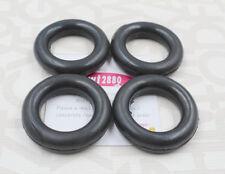 4 X Exhaust Pipe O-Ring Exhaust Tips Muffler Silencer Hanger Rubber Insulator