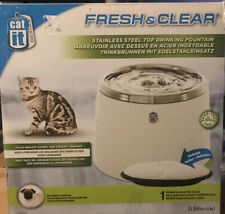 Cat It Fresh & Clear Drinking Fountain for Cats, Dogs and Other Pets Art# 50023