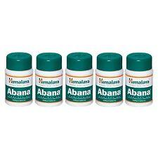 5 packs X Himalaya ABANA 60 Tabs Reduces Cholesterol | Free Shipping