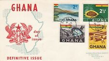 Ghana 1959 Definitive Issue FDC Accra CDS unadressed VGC