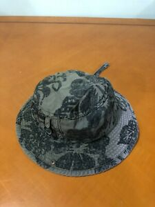Boys Baby Children's Place Green Camouflage Baseball Golf Bucket Hat Size 3-4T