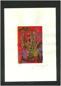 MARC CHAGALL Old Etching - Hand signed in pencil -