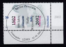 BRD 2002 gestempelt ESST Berlin Eckrand unten rechts MiNr. 2254