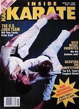 8/84 INSIDE KARATE MAGAZINE JIGORO KANO MARTIAL ART JUJITSU JUDO KARATE KUNG FU