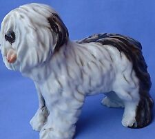 """1930 Old English Sheepdog Cacciapuoti Italy 7"""" Oes Dog"""