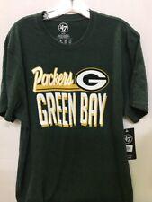 Nfl Green Bay Packers Men's '47 Green Script Club T-Shirt, X-Large