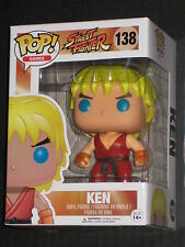 STREET FIGHTER KEN POP VINYL FIGURE FUNKO CAPCOM NEW IN STOCK HOT ARCADE