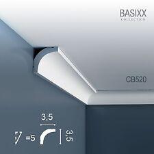 Orac Decor CB520 BASIXX Stuck Zierprofil Zierleiste Eck-Wand-Decken-Leiste | 2 m