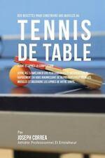 Des Recettes Pour Construire Vos Muscles Au Tennis de Table Avant et Apres la...
