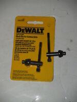 "DEWALT DW2303 1/4"" x 3/8"" Chuck Key with 1/4"" Pilot FOR CORDLESS DRILLS-Plus one"